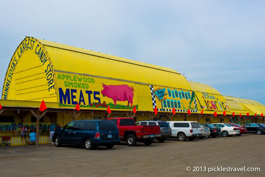 Big Yellow Barn on 169