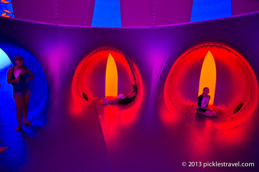 Cloud Colors in Luminarium