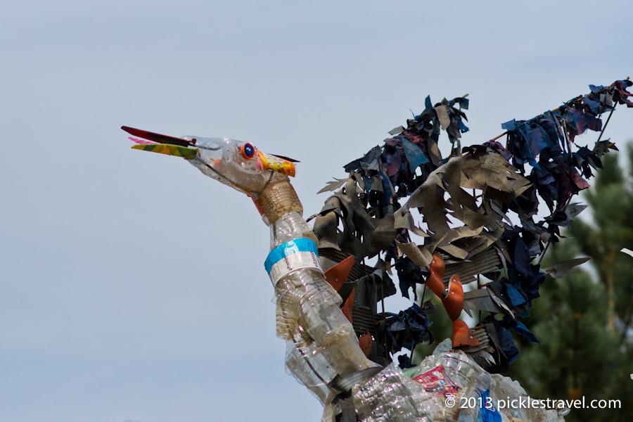 2011 litter sculpture
