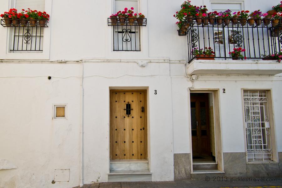 White, white, white and door