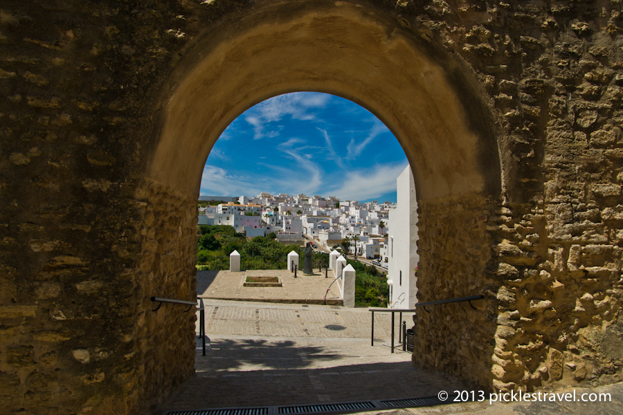 Entering Vejer