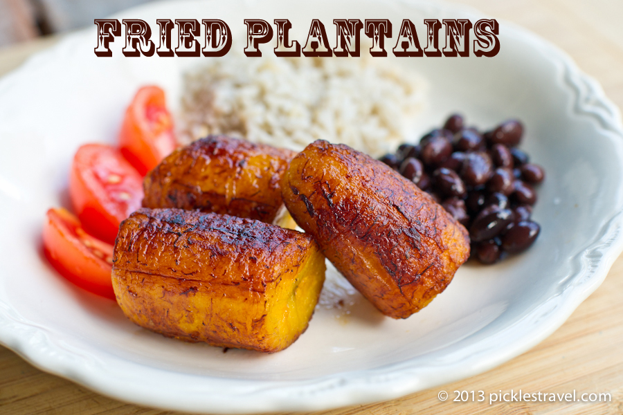 Easy to make fried plantain recipe costa rican dishes pltanos fritos or fried plantains are a costa rican staple a central american staple forumfinder Gallery
