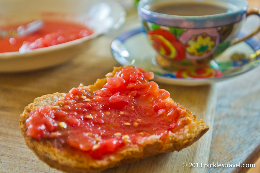 Pan con Tomate for Breakfast