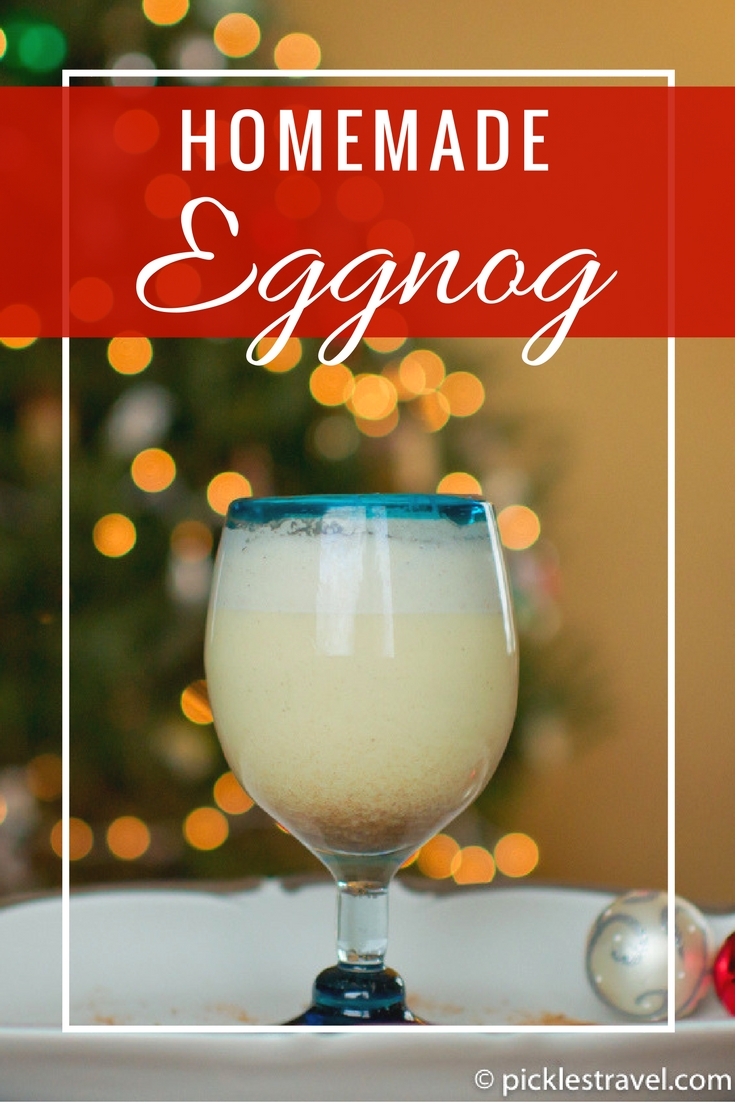 This spiked homemade eggnog drink recipe is the best and will complete your Christmas or New Year's Eve Party!