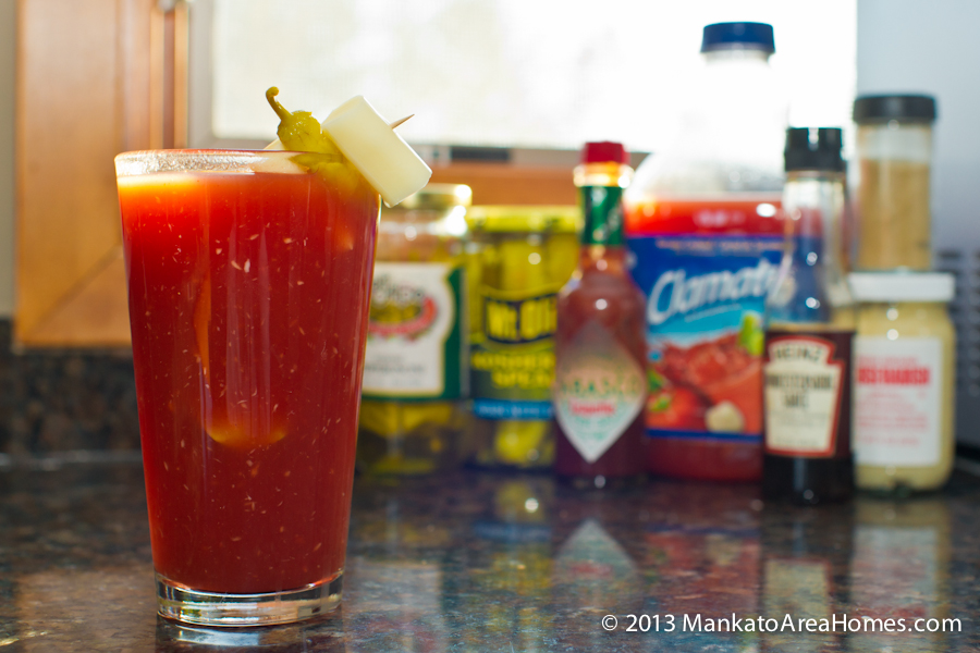 Clamato Juice Bloody Mary
