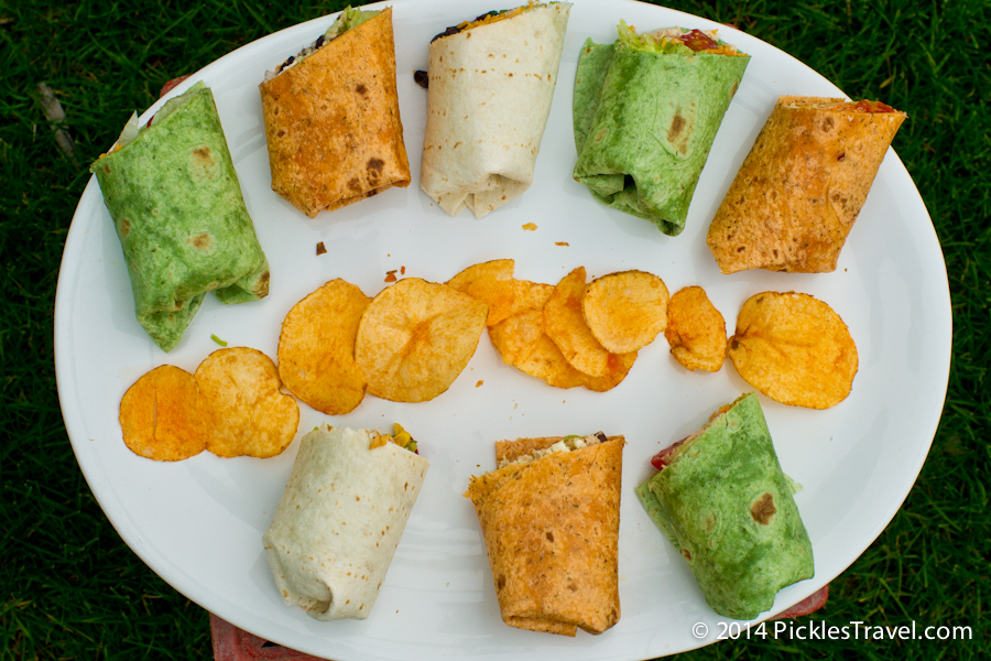 Wrap Sandwich Party Tray