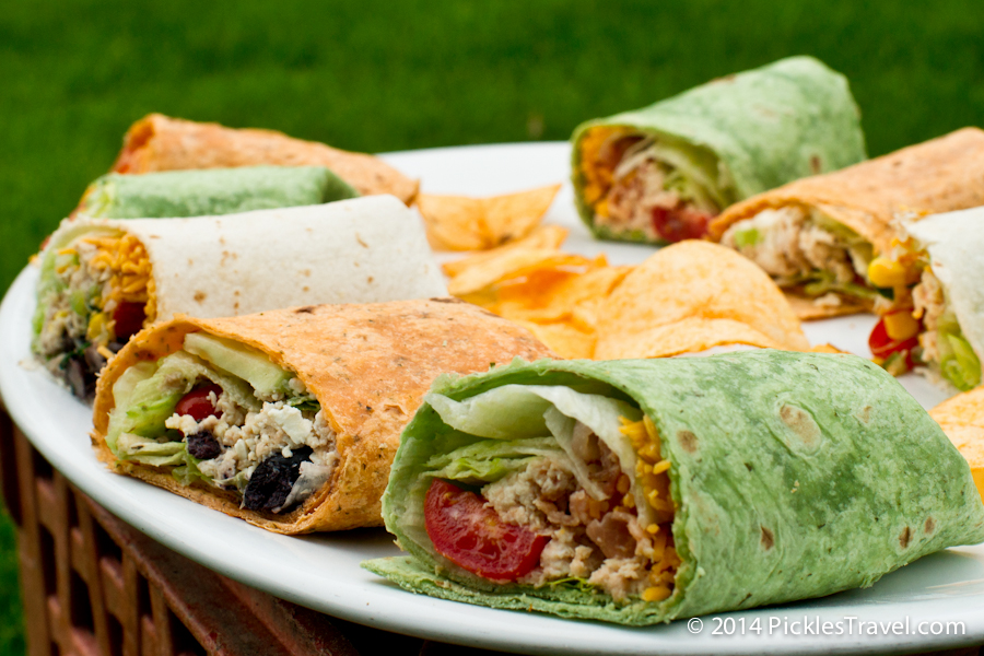 Chicken Sandwich Wrap Variations