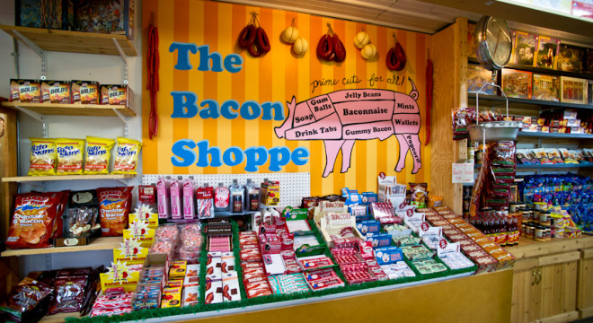 The Bacon Shoppe at the Big Yellow Barn in Jordan