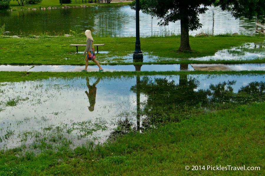 Waterlogged Stroll