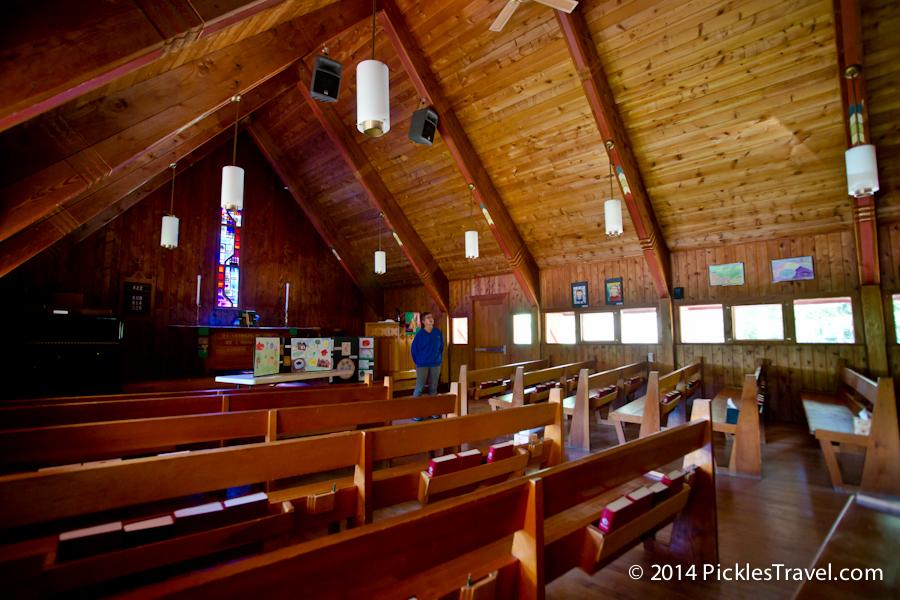 Trinity Lutheran Church interior