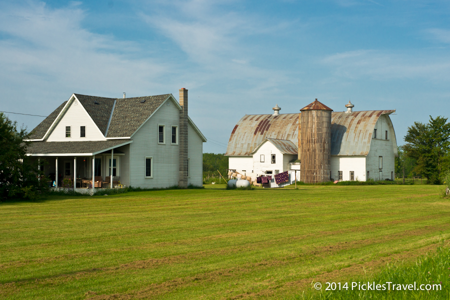 Farmstead with laundry and beautiful barn