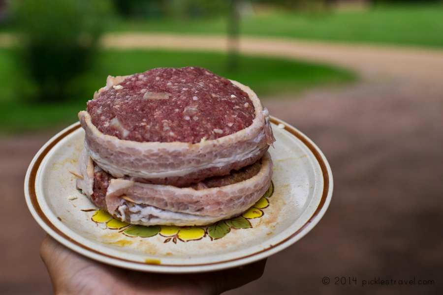 Burger Patties ready to be grilled