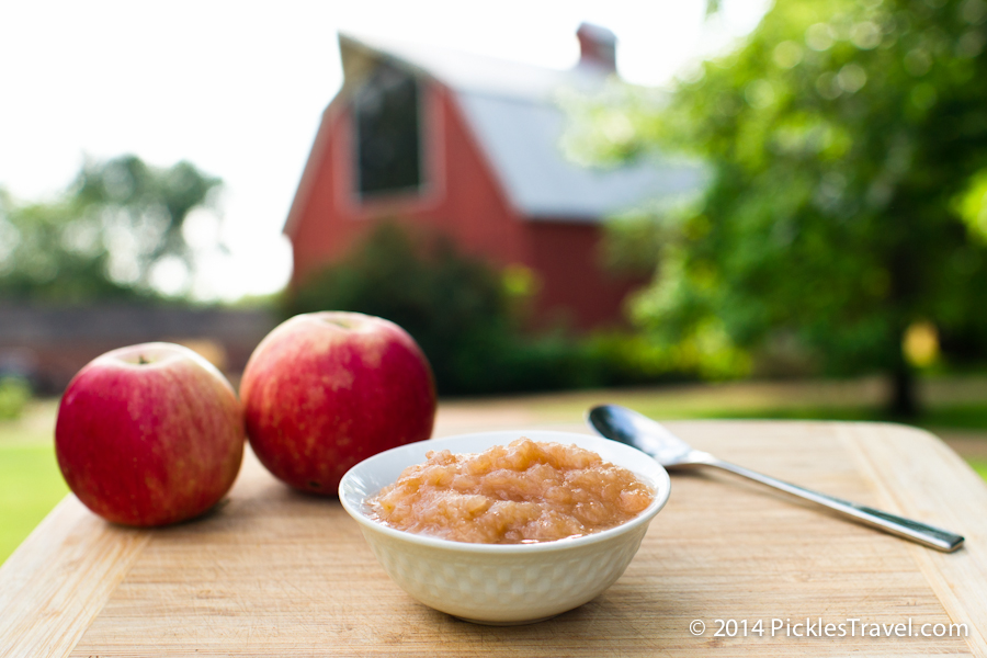 Homemade applesauce brings you closer to home - like going to grandmas
