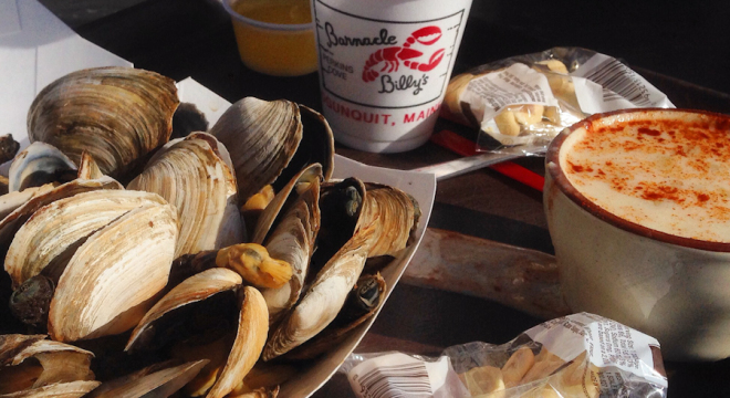 Barnacle Billys Steamed Clams & Clam Chowder