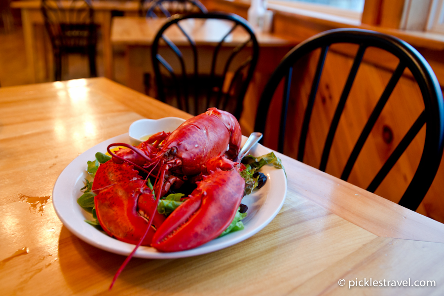 Lobster Set up at table
