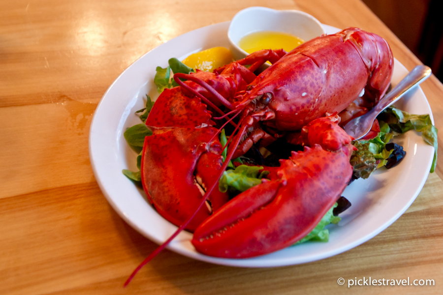Lobster Meal and direction on how to eat