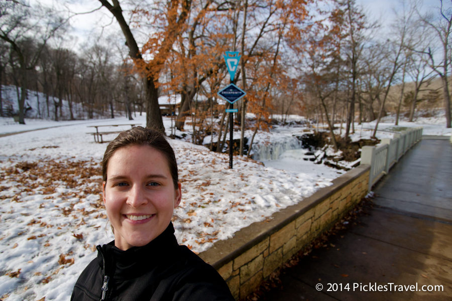Checkpoint minnesota at Minneopa Creek- #OnlyinMN