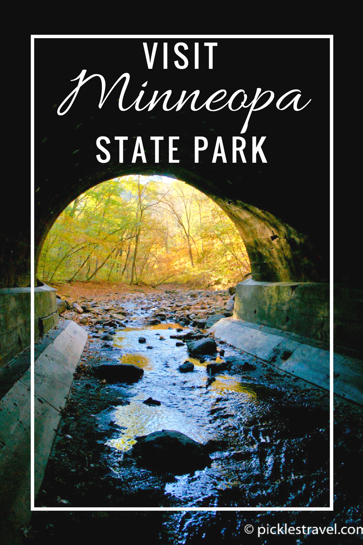 Road trip or travel down to Mankato's Minneopa State Park for frozen waterfalls in the winter, roaming buffalo in the spring and tunnel exploration in the fall and camping, hiking and more in the summer for a kid friendly adventure anyone can enjoy.