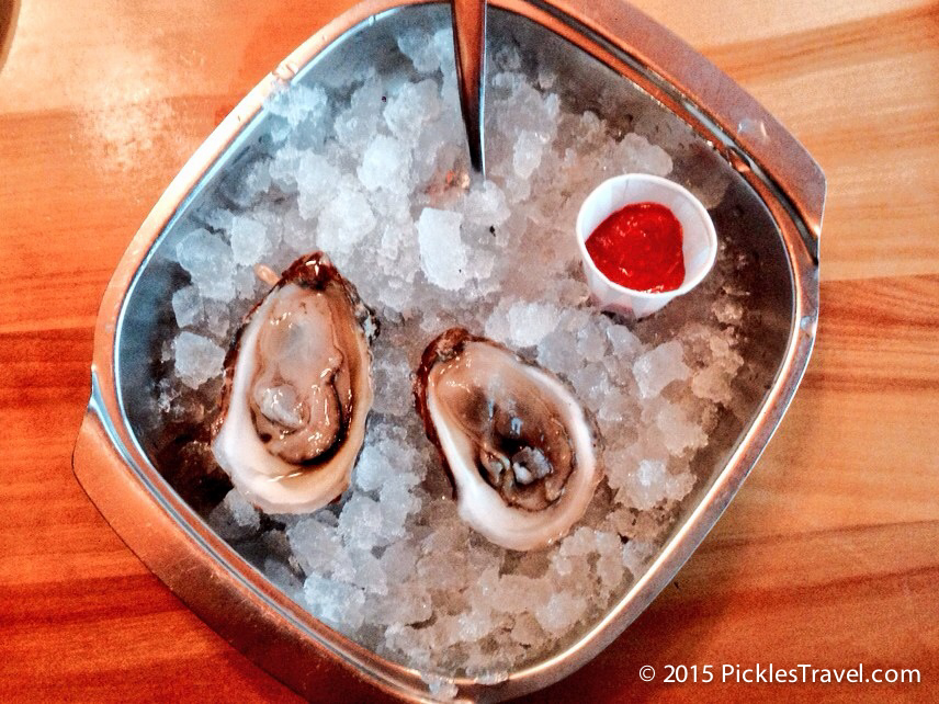 Oysters at Carr's oyster bar