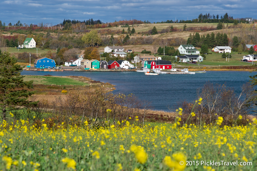Gorgeous French River colors from Hostetter's Viewscape