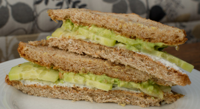 Cucumber Tea Sandwich Recipe