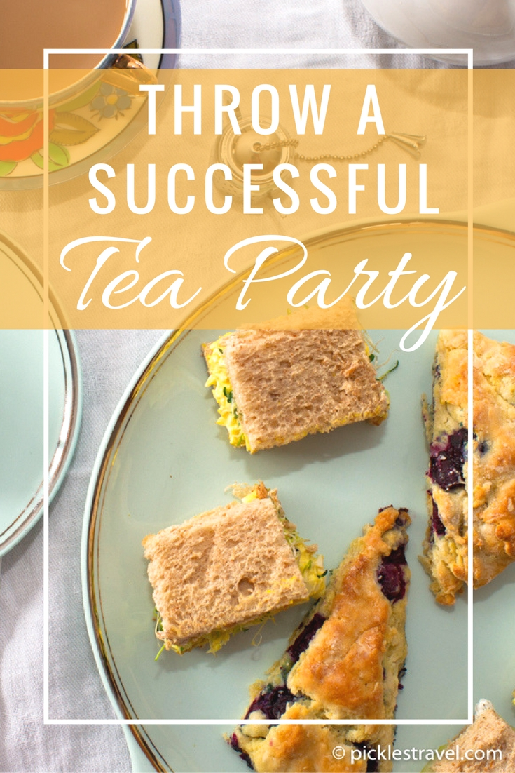 Food, tips, and recipes for throwing a high noon English tea party in style that you can enjoy with kids and the whole family