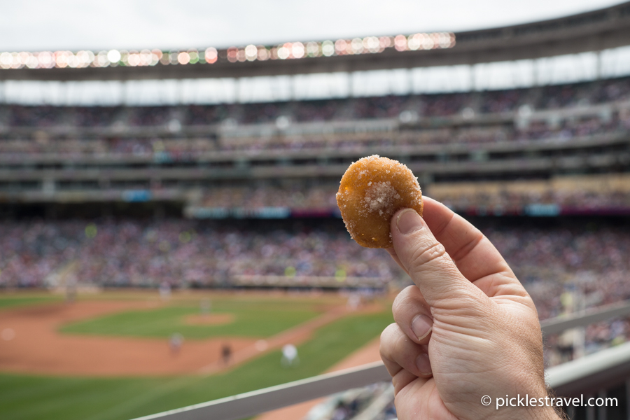 Best Food at Target Field and Twins Games