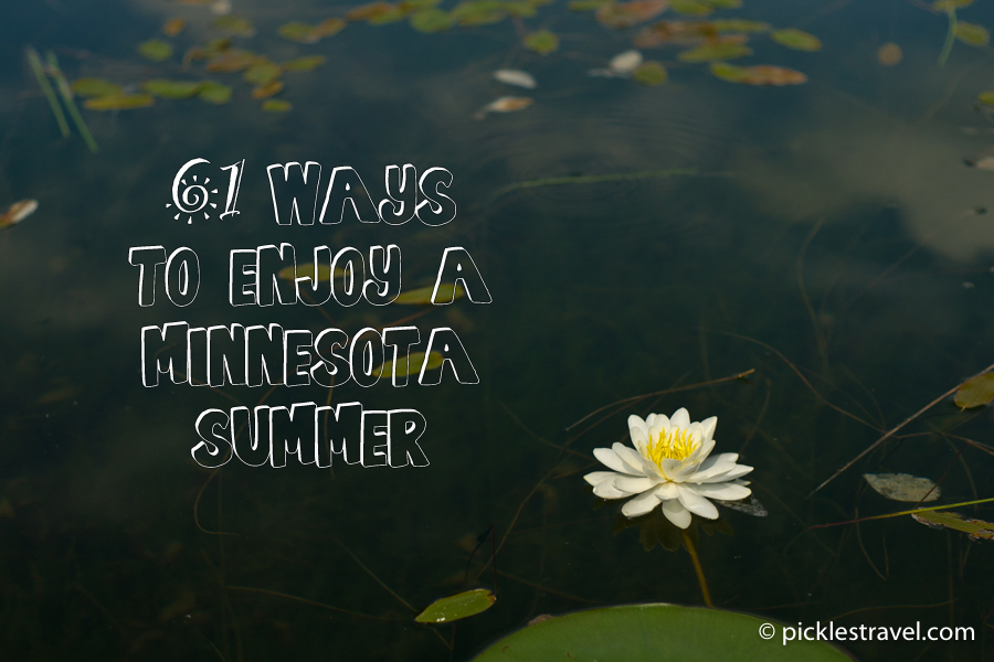 61 Ways to Enjoy a Minnesota Summer