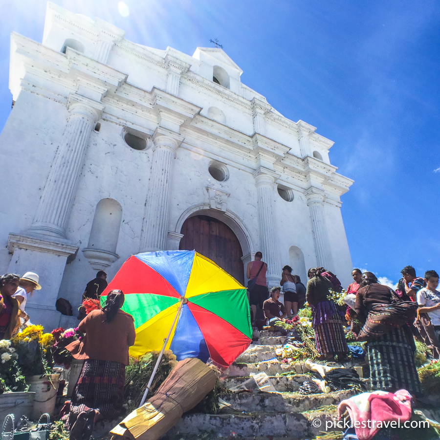 Chichicastenango church