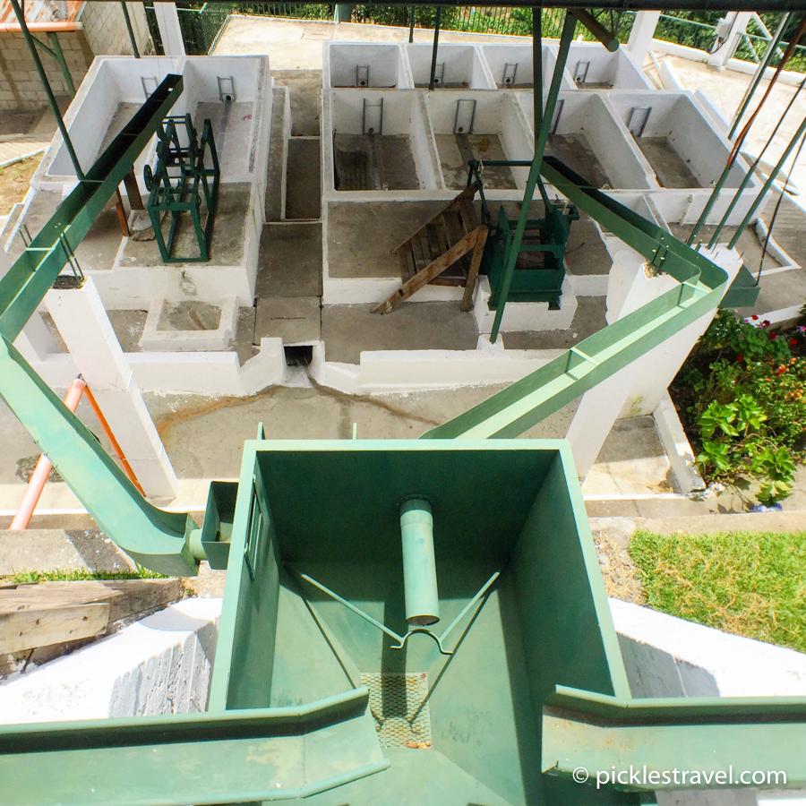Guatemalan Coffee Fruit washing stations