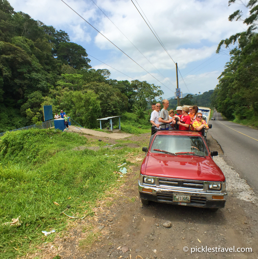 Guatemalan Transportation in groups