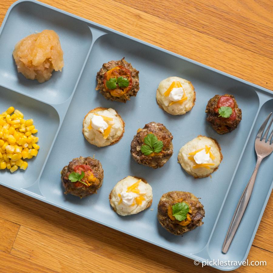 Bitesize meatloaf appetizers