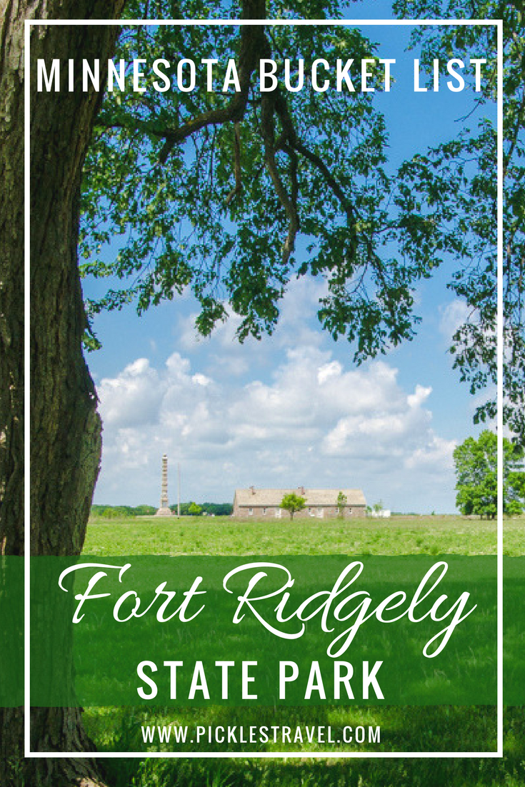 Fort Ridgely should be on your Minnesota Bucket List. So many outdoor adventure things to do at this State Park in southern Minnesota- from hiking and camping and enjoying historical sites to even golf there is something to explore for the kids and adults in your family.