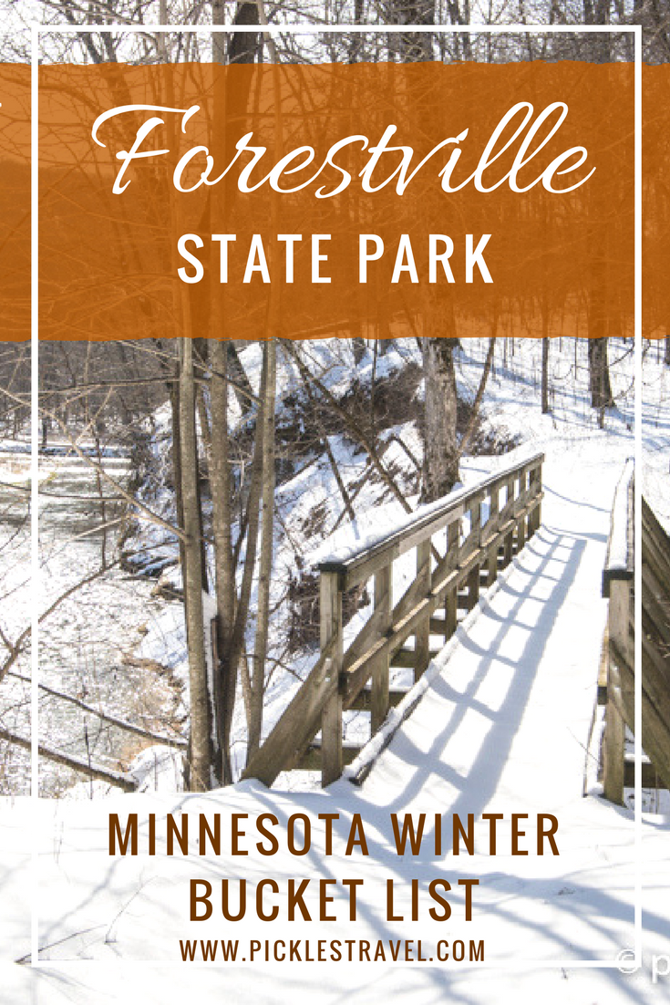 Forestville State Park needs to be your next outdoor adventure trip. If you're looking for things to do then put it on your Minnesota bucket list. Spring, Fall and winter activities abound with plenty of wildlife, hiking and even camper cabins for camping. It's the perfect destination for a short weekend or a pitstop during a long midwest road trip