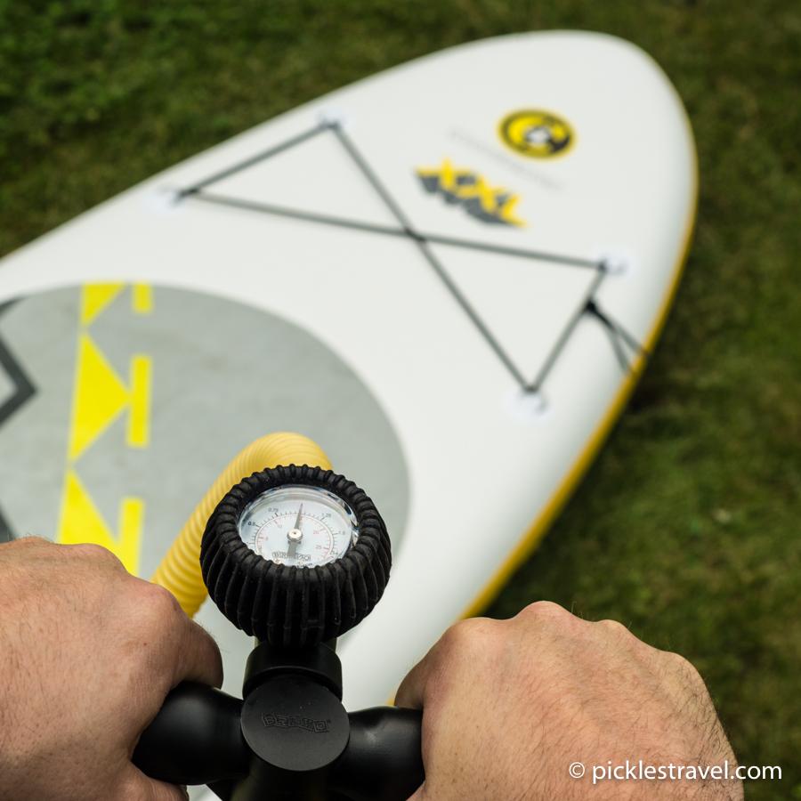 C4 Waterman pump gauge