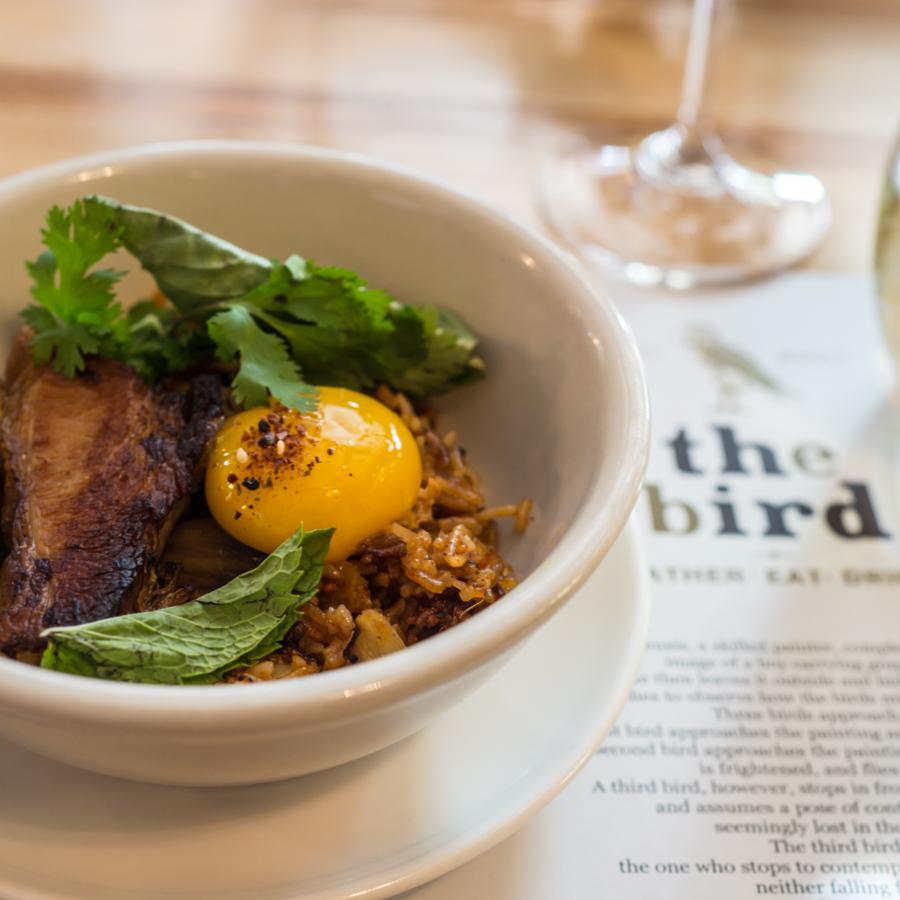Kimchi Fried Rice at the Third Bird Minneapolis