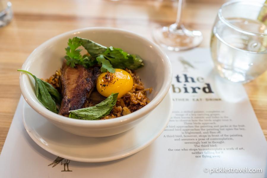 Kimchi Fried Rice at The Bird