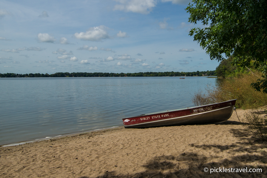 State Parks for Stand Up Paddle boarding Sibley State Park