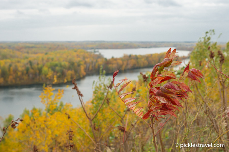 Fall at Cuyuna Country state recreation area