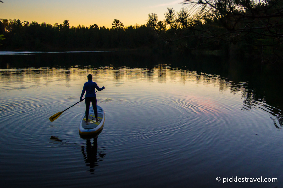 Stand Up Paddle Boarding Cuyuna Country