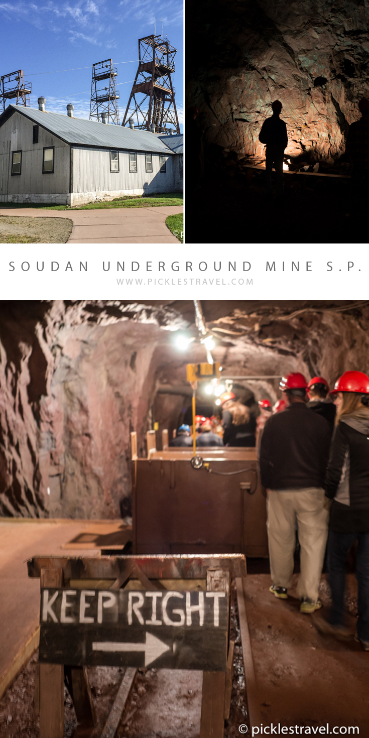 Travel to Ely & northern Minnesota- Soudan Underground Mine tour shows you how a miner would have experienced the Minnesotan iron range - all a half mile into the earth