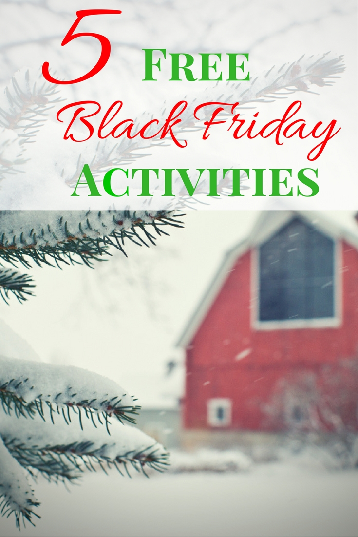 5 Free Black Friday activities and tips 2016- Enjoy these free deals that get you out of the house and spending time with your family