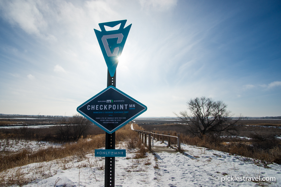 Checkpoint MN sign
