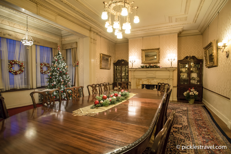 Dining Room Trees at Glensheen