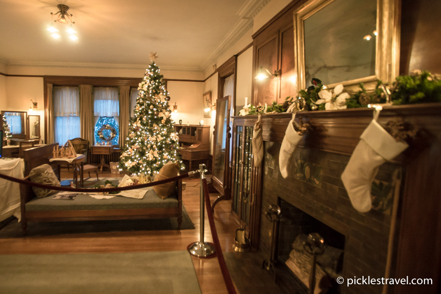 Glensheen Mansion Christmas TREES in every room