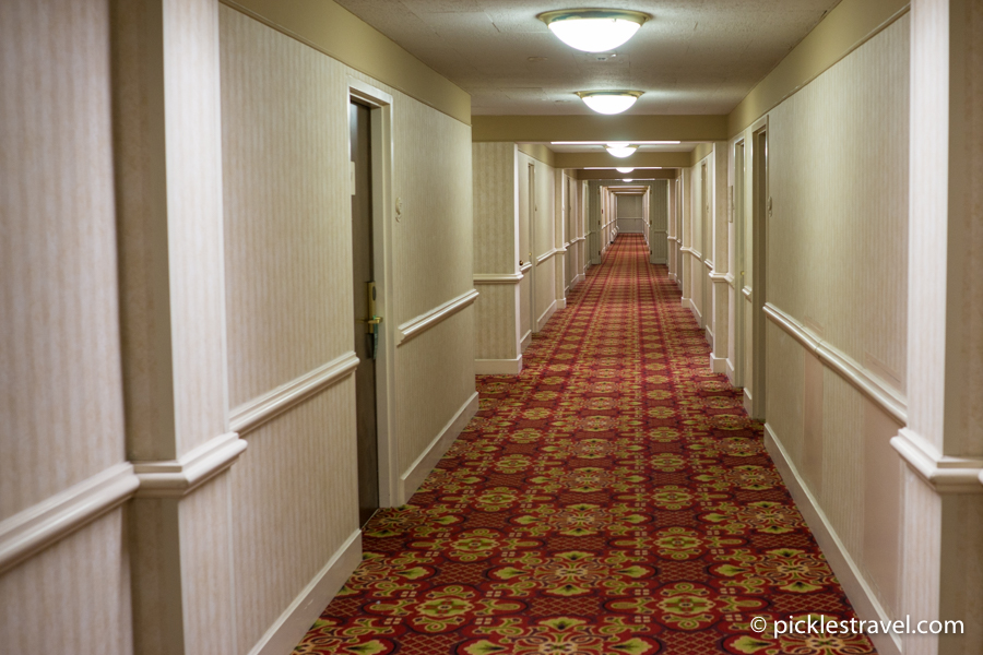 Kahler Grand Hotel hallway