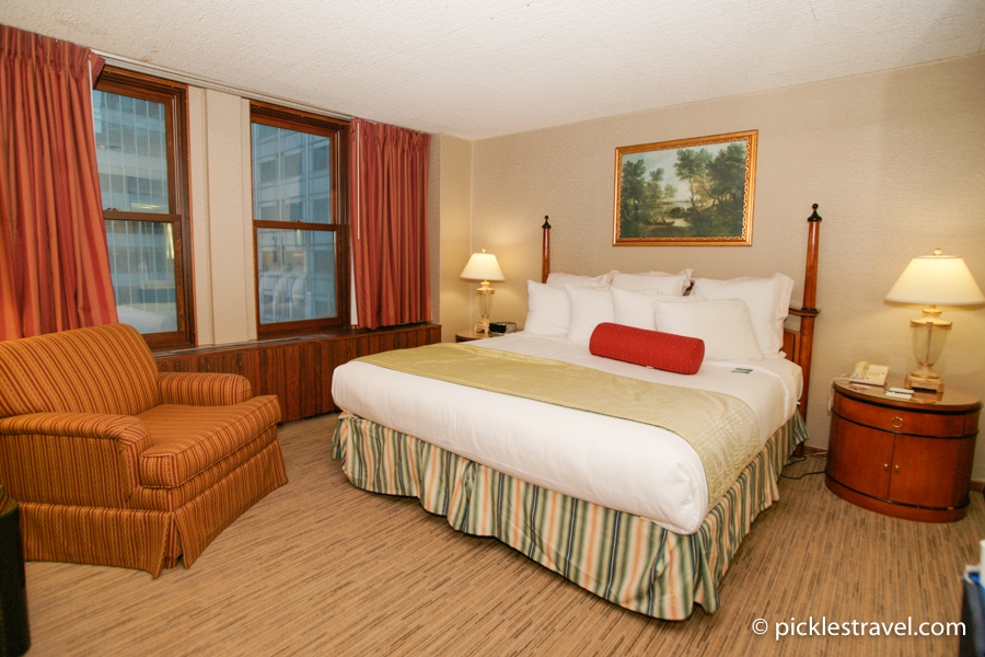 Kahler Grand Hotel suite master bedroom