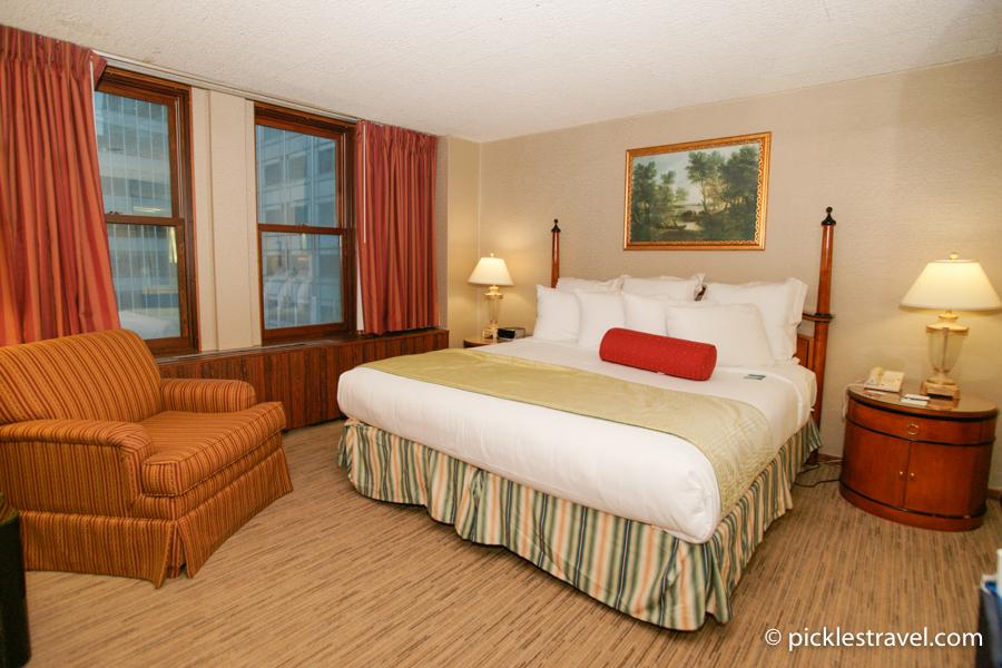 Kahler Grand Hotel suite master bedroom