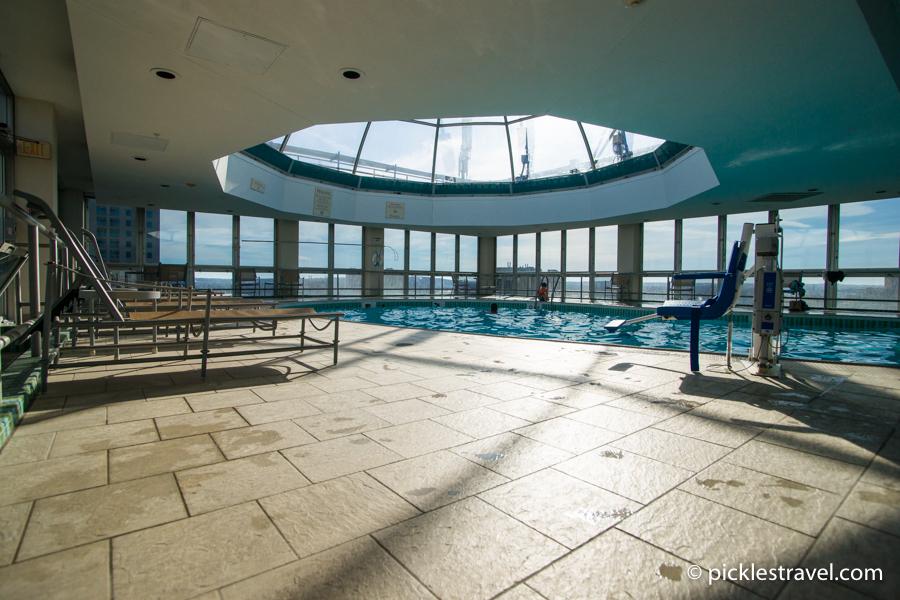Rooftop Pool Kahler Grand Hotel