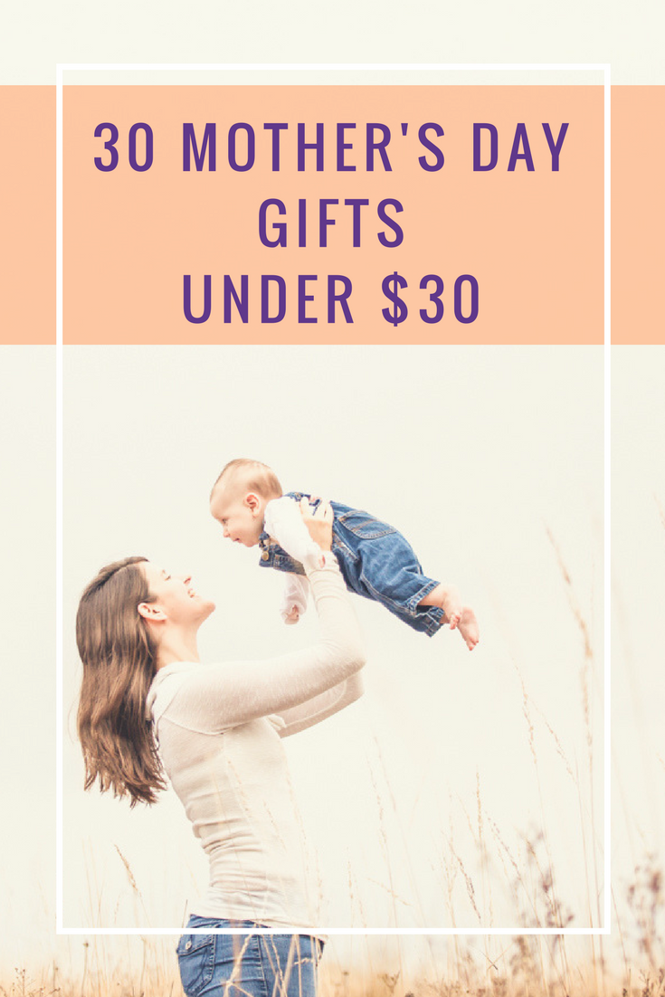 A list of Mothers Day gifts that are say I love you but don't cost a lot including outdoors adventure gifts, chocolate, pickles, activities for the whole family and things that you can enjoy with the kids. These gifts will help mom relax or enjoy her snuggle time with her family